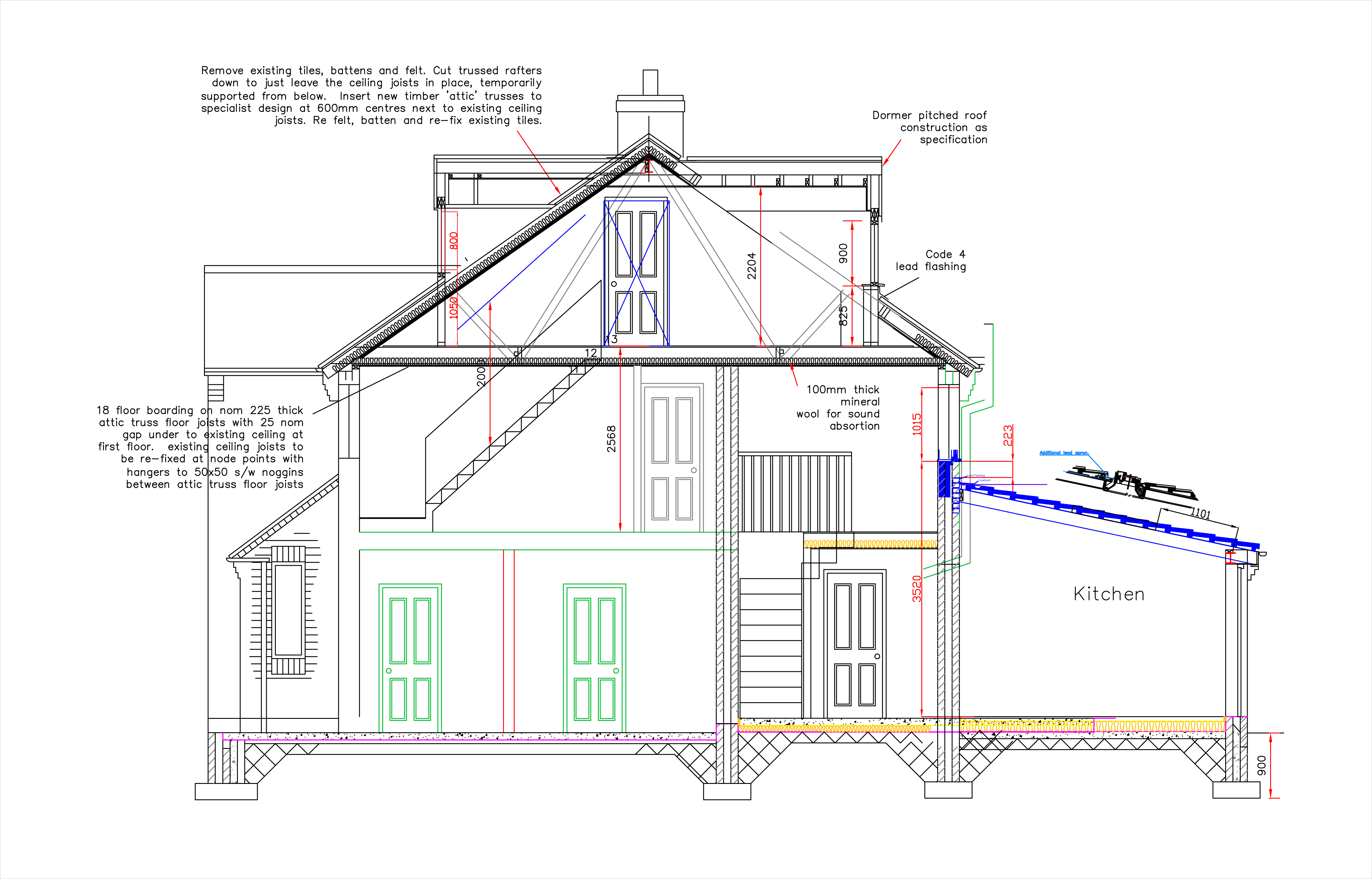 Planning Application Drawings - On Site & Online. CAD
